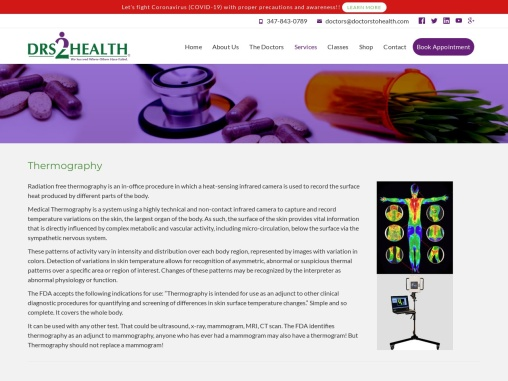Cancer Treatment Center NYC | Drs2Health | Radiation Free Thermography New York