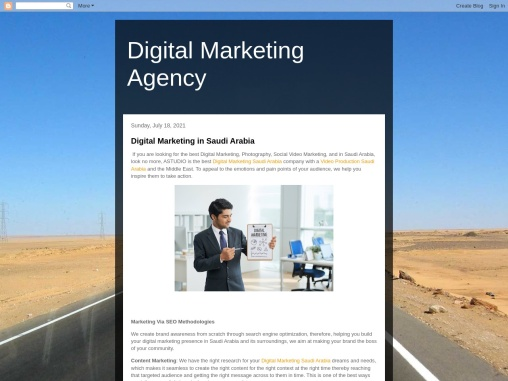 Digital Marketing Services Agency UAE