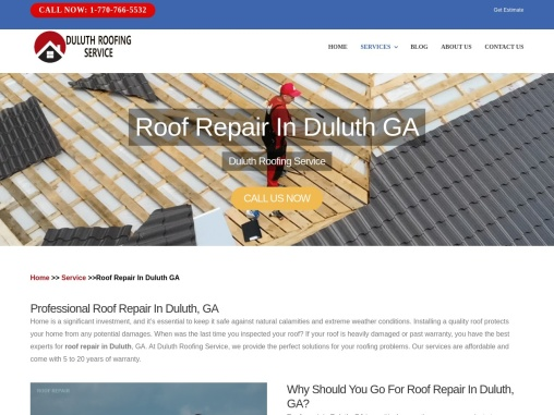 Roof repair in duluth GA | Roofing Company in Duluth ga