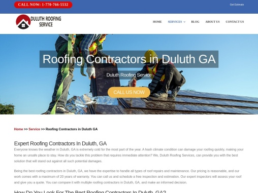 Roofing Company in Duluth GA | Roofing contractors in Duluth GA
