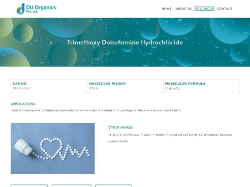 Trimethoxy Dobutamine Hydrochloride