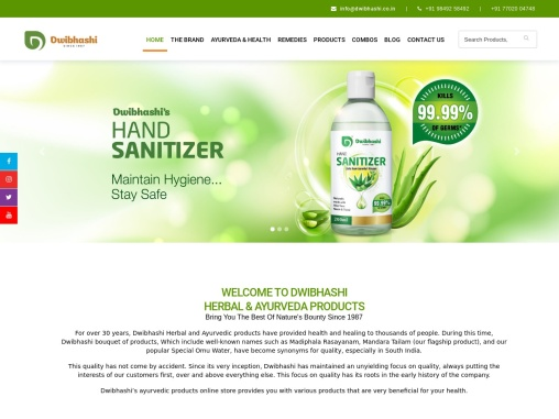 Ayurvedic Products Online Store Hyderabad