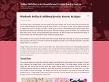 Wholesale Indian traditional jewelry factory in Jaipur