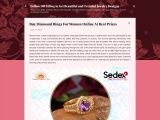 Buy Diamond Rings for Women Online at Best Prices