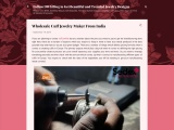 Wholesale cuff jewelry maker from India