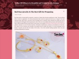 Red Onyx Jewelry is The Best Gift for Proposing