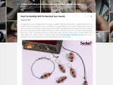 Rock the wedding with the best Red onyx jewelry