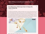 Powerful features of red agate stone to change the course of your life