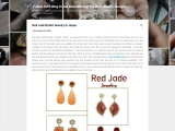 Red jade bridal jewelry in Jaipur