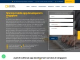 Hire Mobile App Developers in Singapore | DxMinds