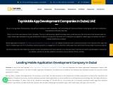Top Mobile App Development Companies in Dubai UAE