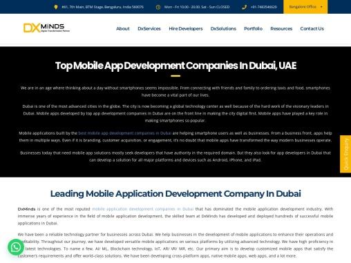 Mobile Apps Development Companies in Dubai UAE