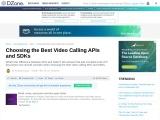 video chat plugin/API is best for an international website