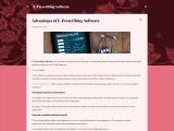 Predominant Advantages of Electronic Prescribing Software
