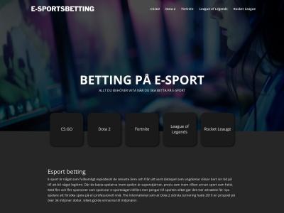 e-sportsbetting.nu