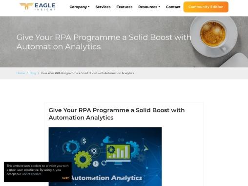 RPA analytics solution in Ireland.
