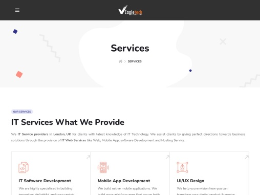 IT Web Services in London – IT Software Company