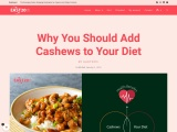 Why You Should Add Cashews to Your Diet