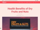 Health Benefits of Dry Fruits and Nuts