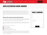 Narre Warren's Finest Auto Electrician
