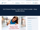 2nd Chance Payday Loans from Direct Lender – Easy Qualify Money