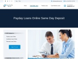 Payday Loans Online Same Day Deposit   Direct Deposit Loans