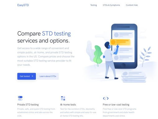 STD Testing and Pricing with Packages