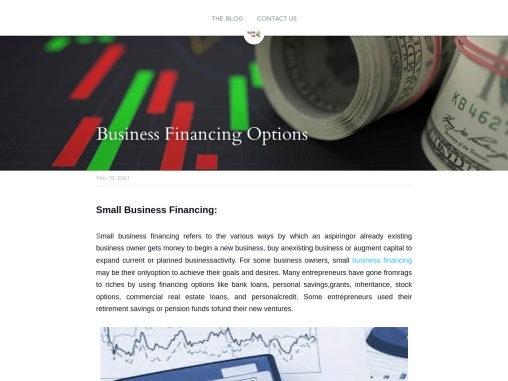 Business Financing Options How To Apply Loan For Business