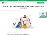 How to Calculate Cash Flow: 3 Cash Flow Formulas (With Examples)