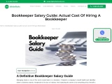 Bookkeeper Salary Guide: Actual Cost Of Hiring A Bookkeeper