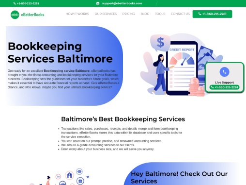 Bookkeeping Services in Baltimore  Online Bookkeeping Services