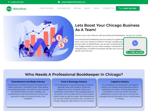 Bookkeeping Services in Chicago  Online Bookkeeping Services