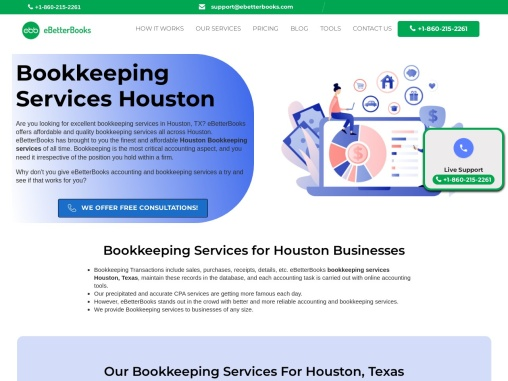 Bookkeeping Services in Houston, TX   eBetterBooks