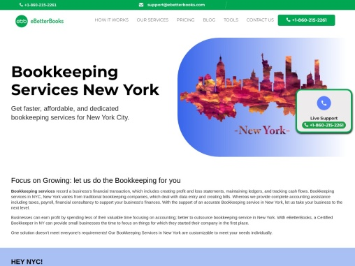 Bookkeeping Services In New York City