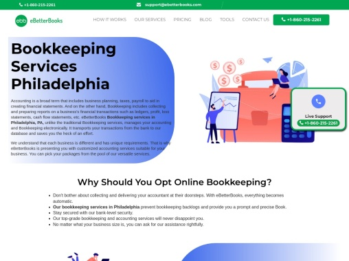 Bookkeeping Services in Philadelphia  Online Bookkeeping Services
