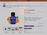 Buy Online Sweet Orange Essential Oil | 100% Natural & Organic | Eco Aurous
