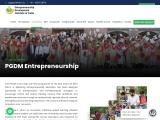 PGDM Entrepreneurship Management