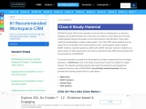 Class 6 Study Material | [Online Study Material]