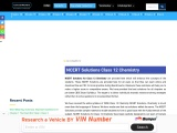 Class 12 Chemistry NCERT Solutions [Download For Free]