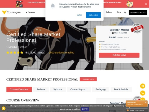 Certified Share Marketing Professional Course