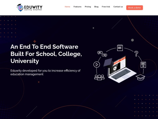 Best school management system in usa | online Education | Eduwity