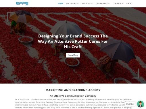 Best Advertising | Marketing | Branding Agency in Chennai | EFFE CONSULTANCY