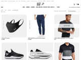 Online store, Selling Under Armor Project Rock things in Pakistan.