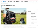 Best Disc Golf Bags Reviewed and ultimate buying guide