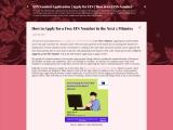EIN Number Application | Apply for EIN | How to Get EIN Number
