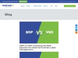 MSP vs VMS: Choosing the Best Solution For External Contract Labor Management