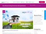 Farm Houses Gaining Prominence During Pandemic   EIPL Infra