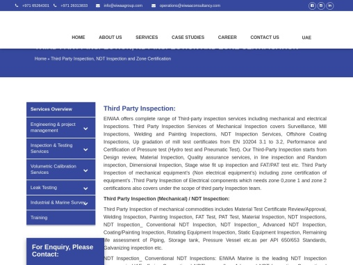 Third Party Inspection Companies in UAE | Dubai | Zone Certification