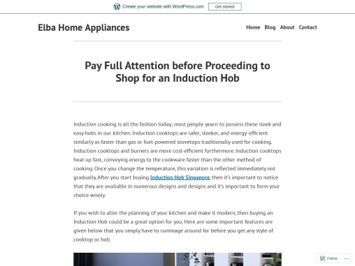 Pay Full Attention before Proceeding to Shop for an Induction Hob