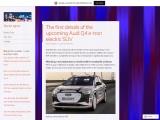 The upcoming Audi Q4 e-tron electric SUV